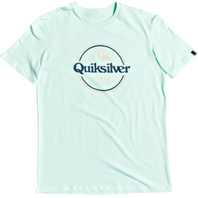 Quiksilver Words Remain SS Tee Men beach glass